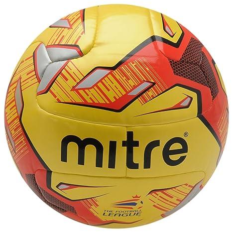 Mitre Delta Inglés Liga de fútbol Fútbol Fluo Amarillo Balón de ...
