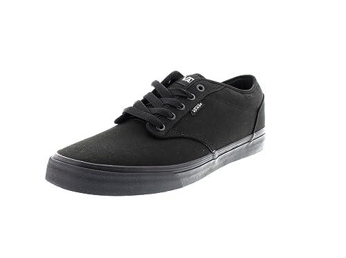 Vans M Atwood (Canvas) Black  - Zapatillas Hombre  Amazon.es  Zapatos y  complementos 8bcb35af45b