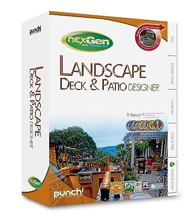 Lovely Punch! Landscape, Deck, U0026 Patio Designer With NexGen Technology