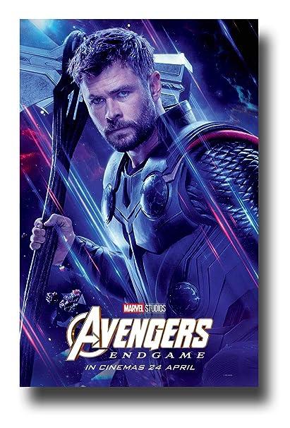 Amazon Com Avengers Endgame Poster Movie Promo 11 X 17 Inches Thor
