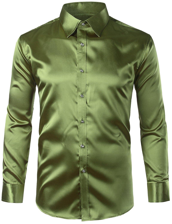 Emerald Green Mens Dress Shirt Bcd Tofu House