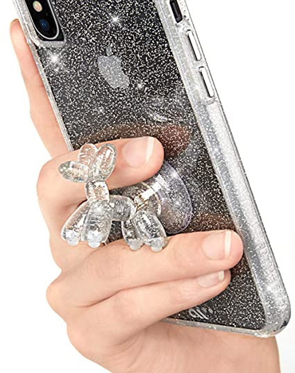 the latest a9f5d 6f1c8 Case-Mate - Phone Holder - Stand UPS - Balloon Dog - Phone Stand - Sheer  Crystal - Clear