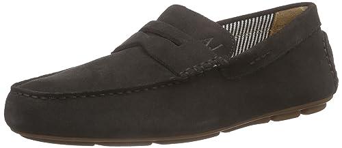 0658855 loafers Braun Armani Jeans Marron homme Mocassins vqw5t