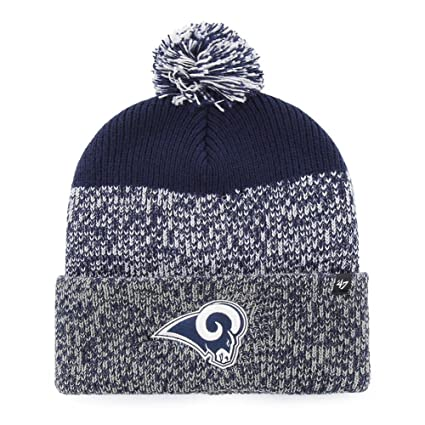 purchase cheap cb680 dc12b ... promo code for 47 los angeles rams beanie static cuff knit hat 9b7b0  b3ac3