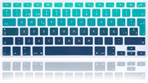 MMDW Spanish Silicone Keyboard Cover Skin for MacBook Pro 13