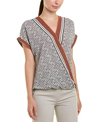 e6d796405a7 Image Unavailable. Image not available for. Color: Max Studio Womens Top ...