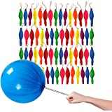 By Robelli Assorted Plain Colour Punch Balloons (45 Pack)