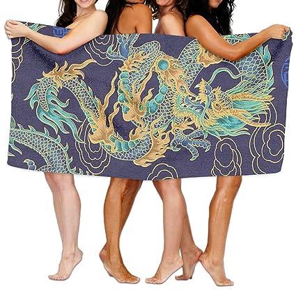 Toallas de playa de microfibra de alta calidad para mujeres, adolescentes, niños, toalla
