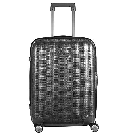 Samsonite Lite Cube Dlx 55 cm maleta de cabina con 4 ruedas, color negro