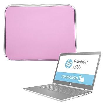 DURAGADGET Funda De Neopreno Rosa para Portátil HP Pavilion x360 14-ba001ns: Amazon.es: Electrónica