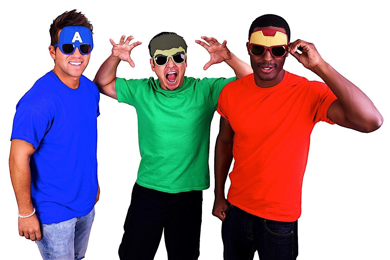 Sunstaches Marvel Avengers Hulk Character Sunglasses Party Favors UV400