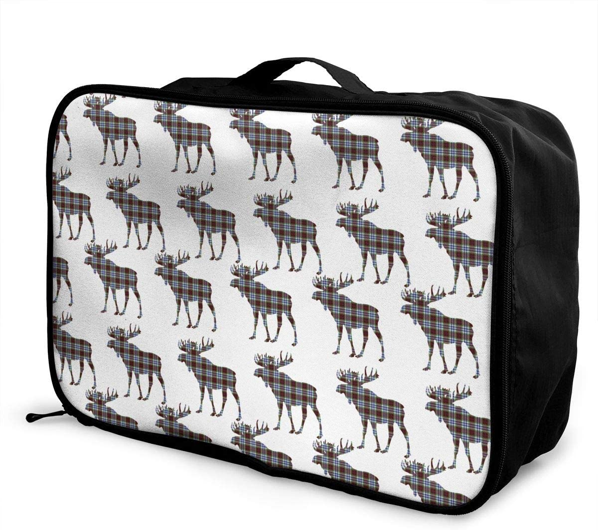 Travel Luggage Duffle Bag Lightweight Portable Handbag Cartoon Mountain Print Large Capacity Waterproof Foldable Storage Tote