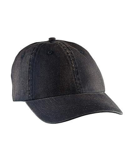 90aac7f8ec7e95 Amazon.com: Big Accessories Vintage Washed Cap, Black, Os: Sports ...