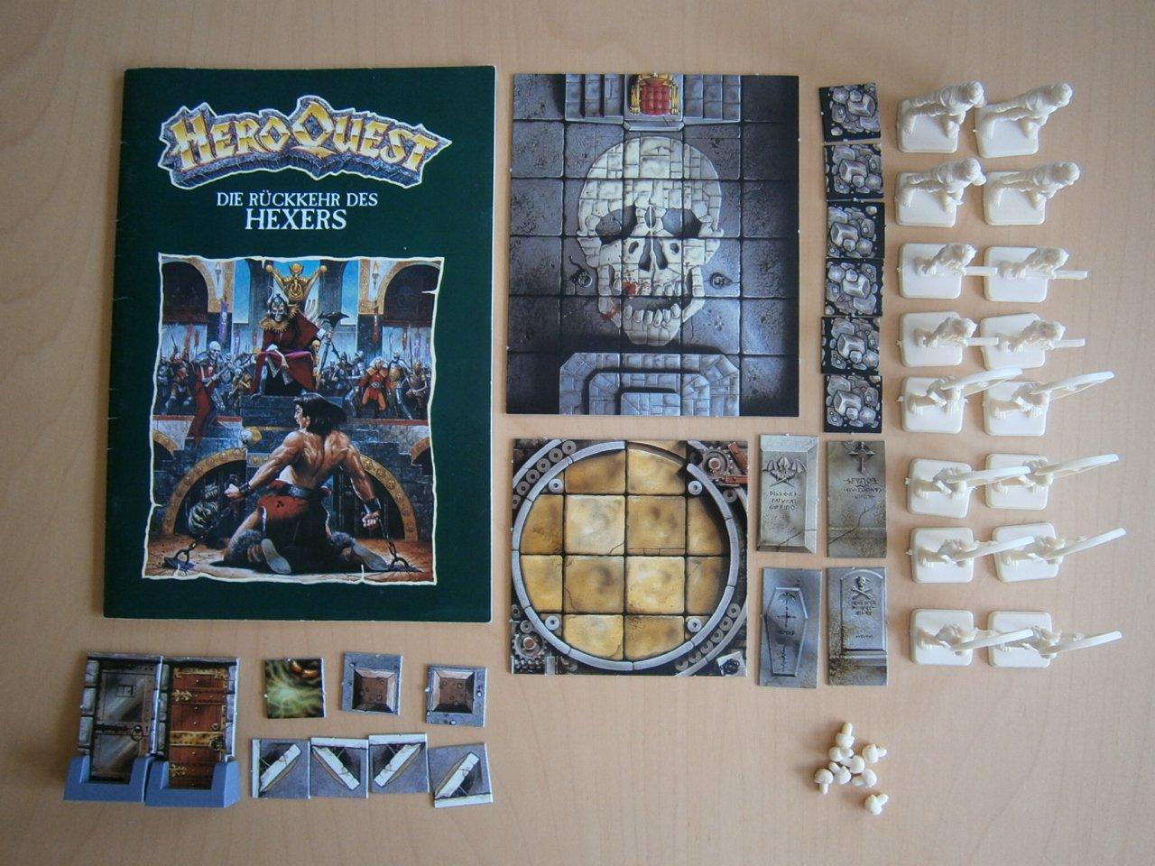 N.V., El Regreso del hexers – Hero Quest Ampliación: Amazon.es ...