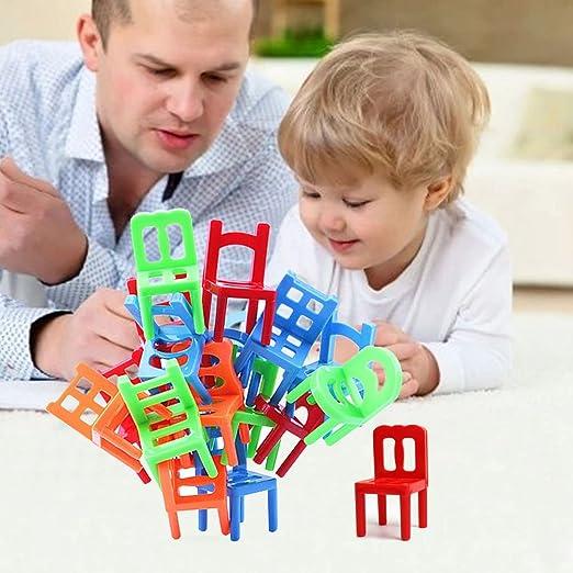 Equilibre Jouets Abs Puzzle En Toogoo Pcs Jeu 18 Enfants Educatif Plastique Balance Chaises Solde Y6gybvf7
