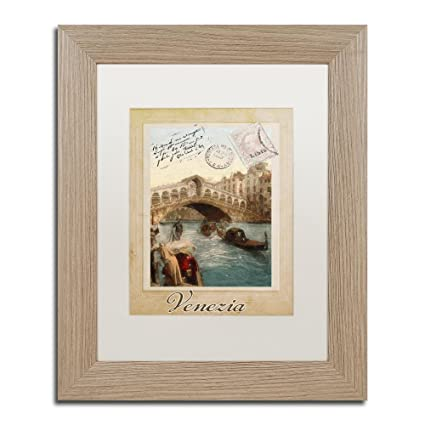 Amazon.com: European Vacation I by Color Bakery, White Matte, Birch ...