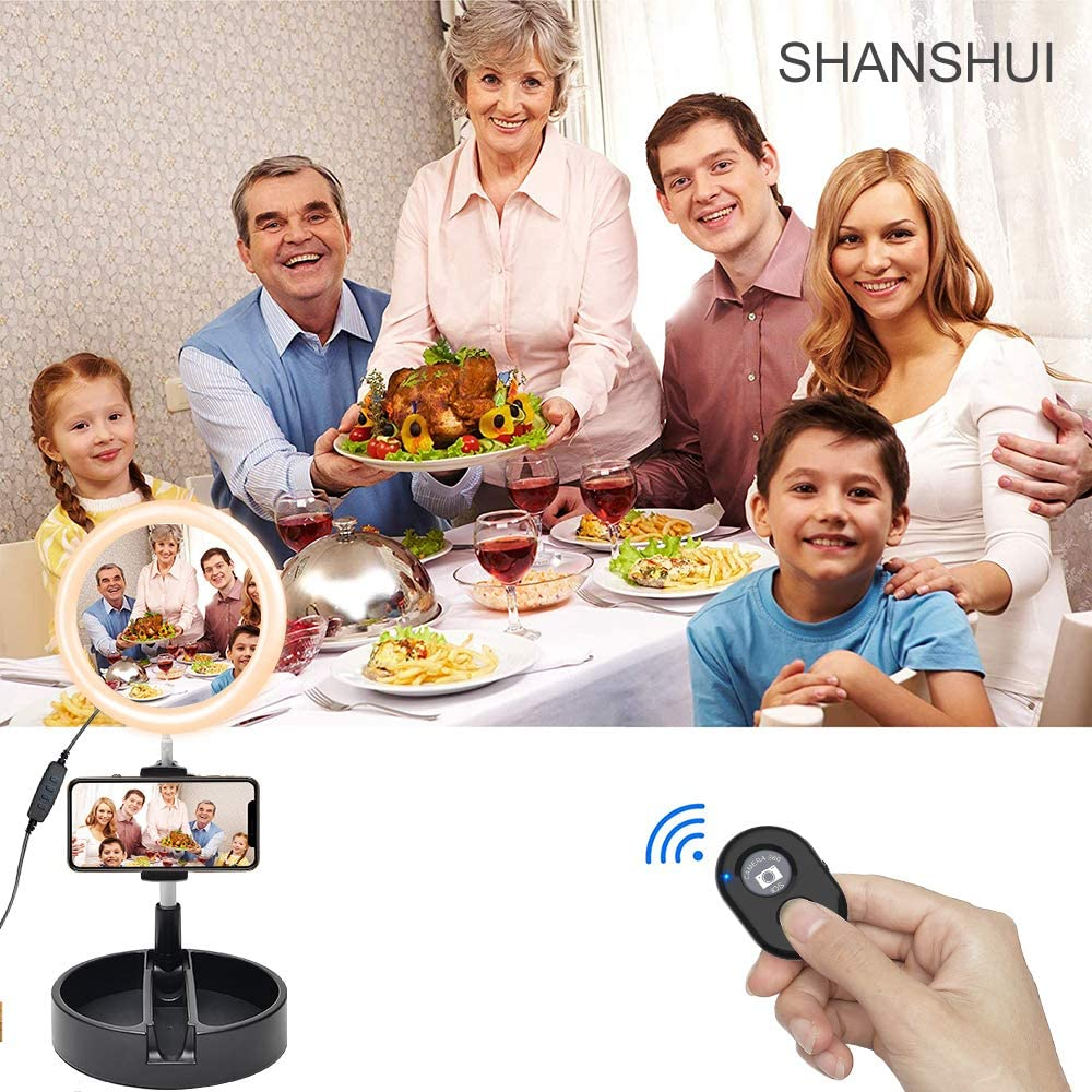 Phone Wireless Camera Remote Control Provide Quickly Shooting Control SHANSHUI Bluetooth Camera Remote Shutter for Electronic Device