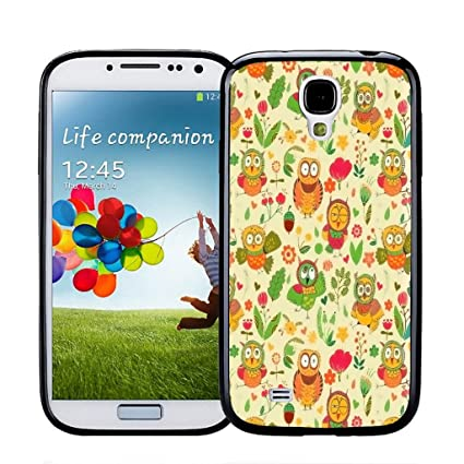 Amazon.com: Caso para Samsung Galaxy S4, OwlAcornDance