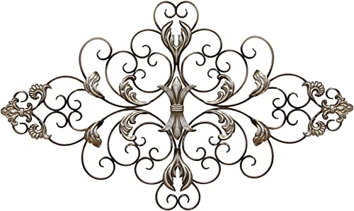 Stratton Home Decor SHD0139 Ornate Scroll Wall Decor