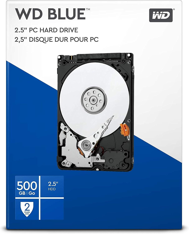 Wd Blue 500gb 2 5 Zoll Interne Festplatte 5400 Rpm Class Sata 6 Gb S 16mb Cache