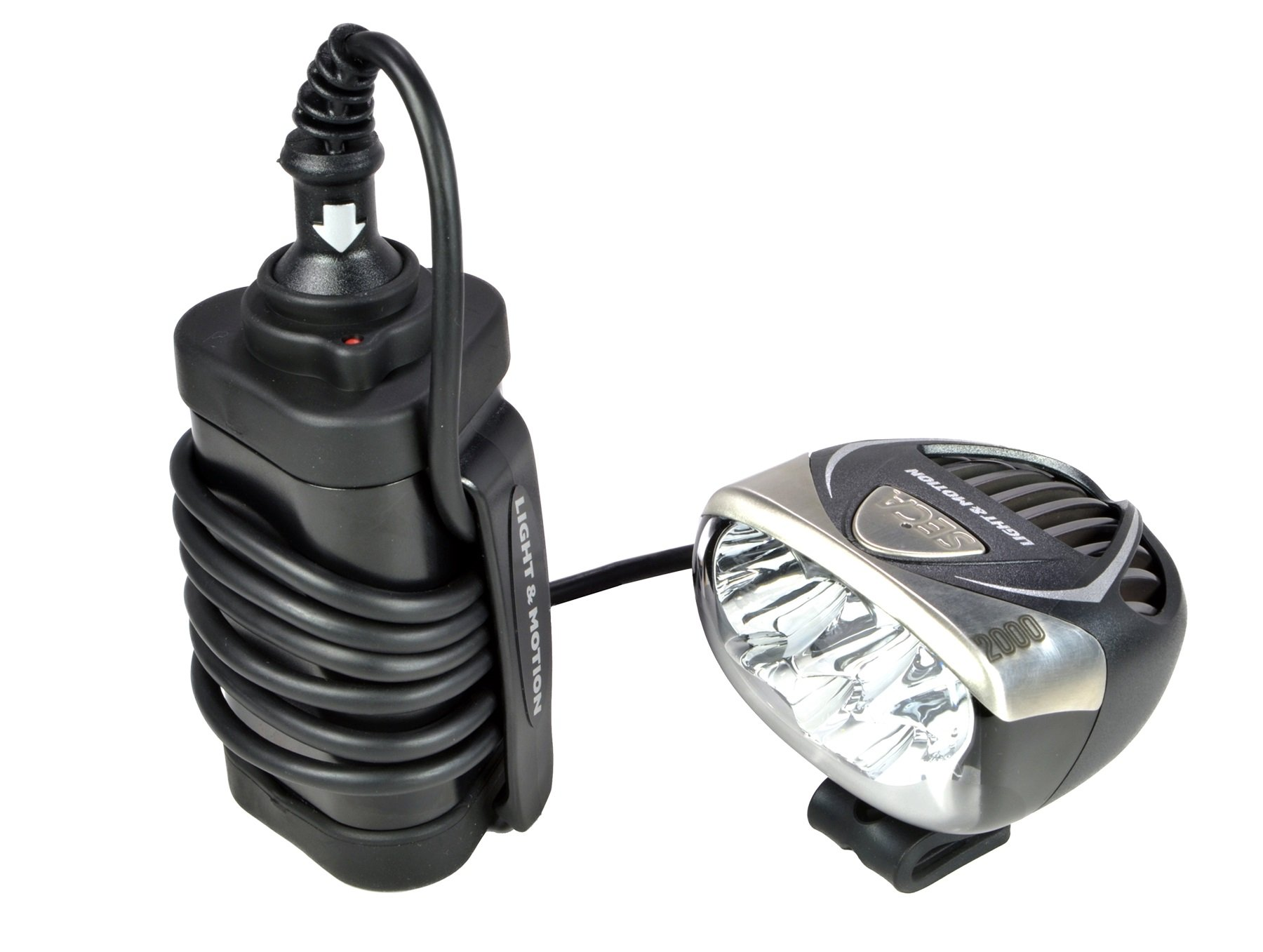 Light and Motion Seca 2000 3-Cell Race Rechargeable Headlight by Light and Motion (Image #4)