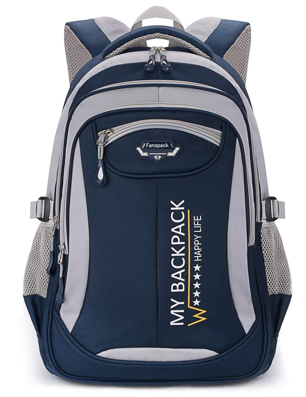 Boys Backpack, Fanspack Backpack for Boys Kids Backpack Bookbags for Elementary School