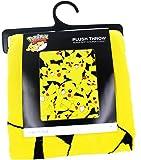 "BIOWORLD Pokémon Pikachu All Over Print Fleece Throw Blanket, 48"" x 60"""