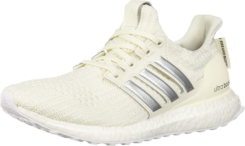 bee591da8 adidas x Game of Thrones Women's Ultraboost Running Shoes, off white/silver  metallic/