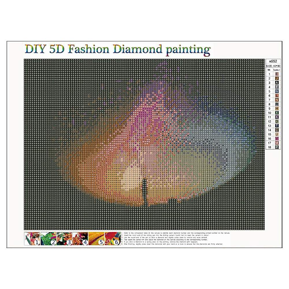 Fanyunhan 5D DIY Landscape Diamond Painting Embroidery Round Diamond Home Living Room Decor Gift by Fanyunhan Painting (Image #2)