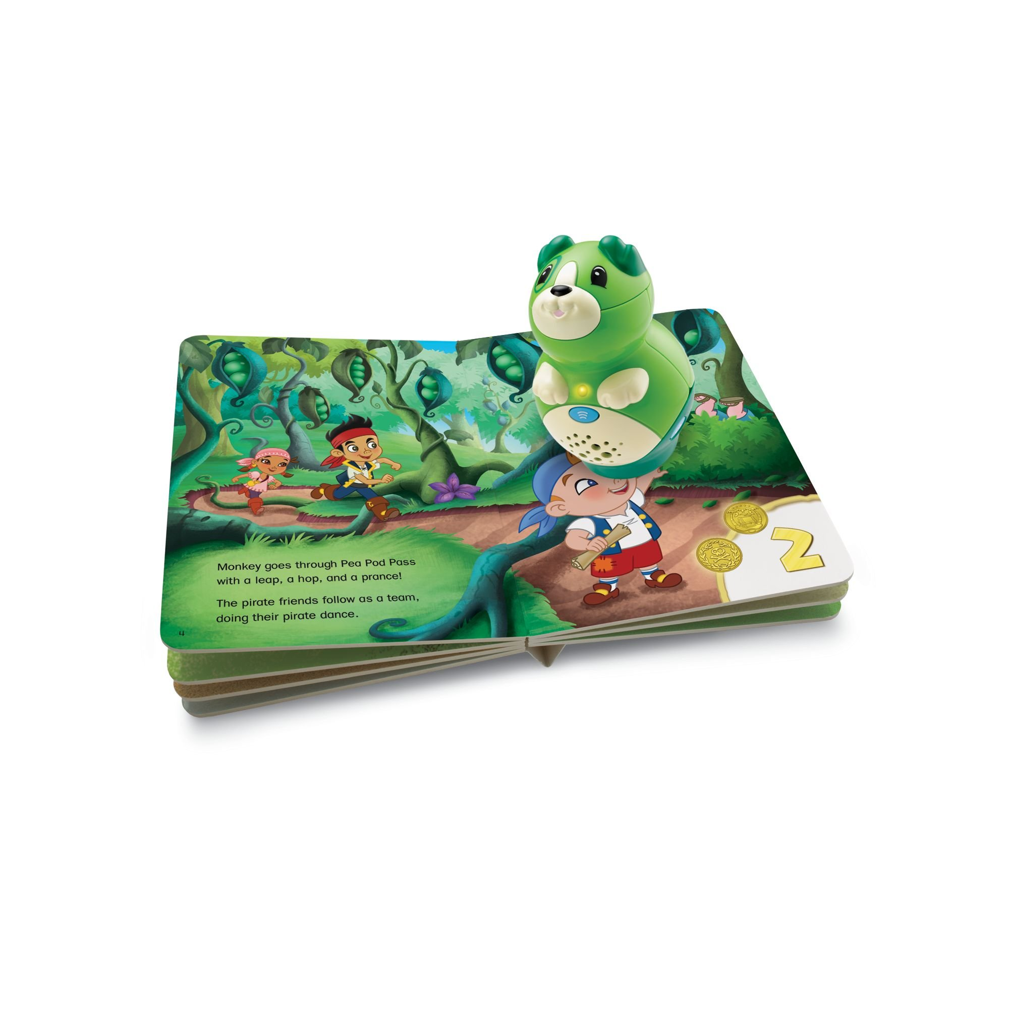 LeapFrog LeapReader Junior Book: Disney's Jake and the Never Land Pirates (works with Tag Junior) by LeapFrog (Image #2)