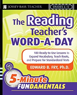 Amazon take five for language arts 180 bell ringers that the reading teachers word a day 180 ready to use lessons fandeluxe Images