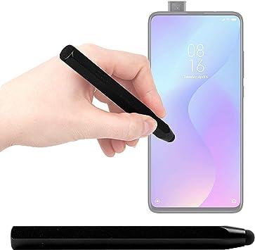 DURAGADGET Lápiz Stylus Negro Compatible con Smartphone Xiaomi Mi 9T Pro, REALME 5, REALME 5 Pro: Amazon.es: Electrónica
