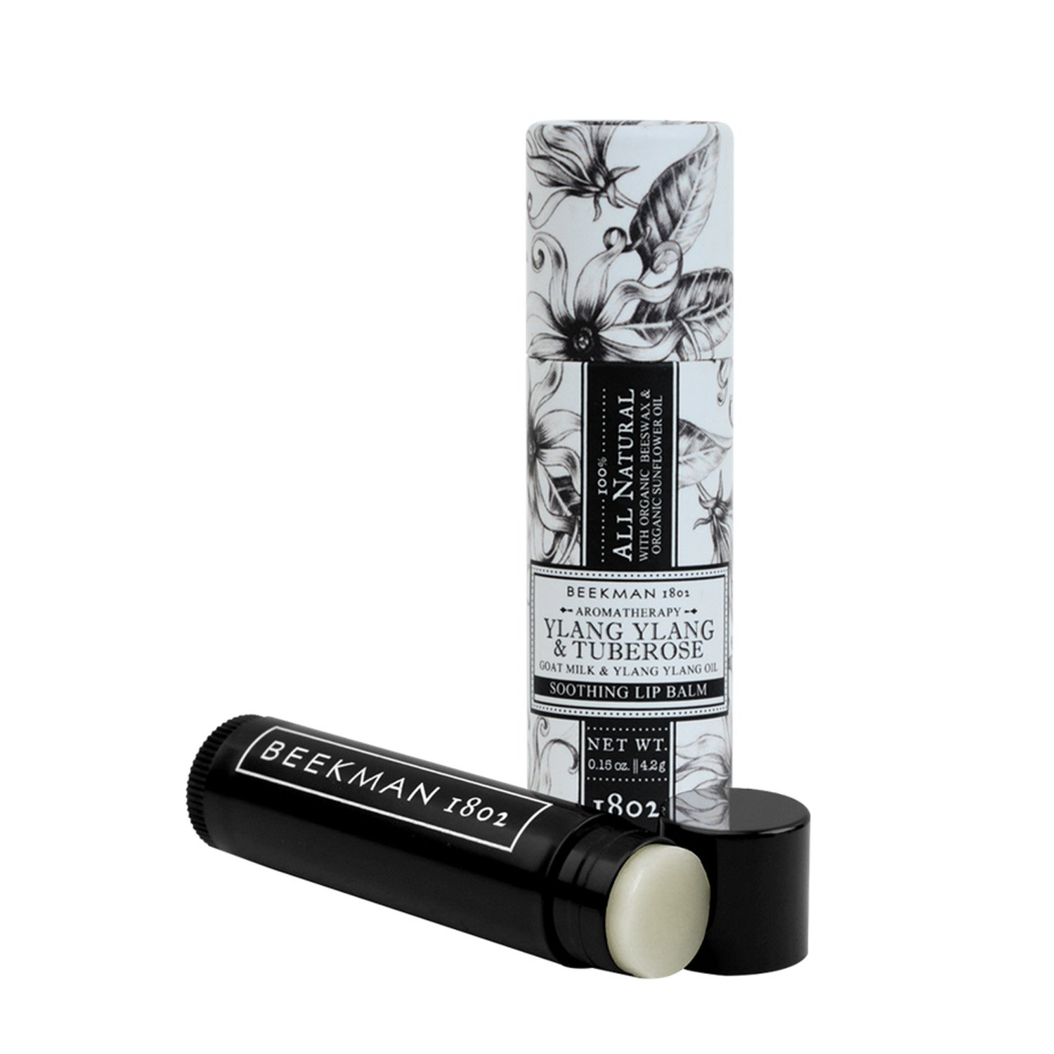 Beekman 1802 All Natural Lip Balm (Ylang Ylang & Tuberose) by Beekman 1802 B18LIPB13-GM