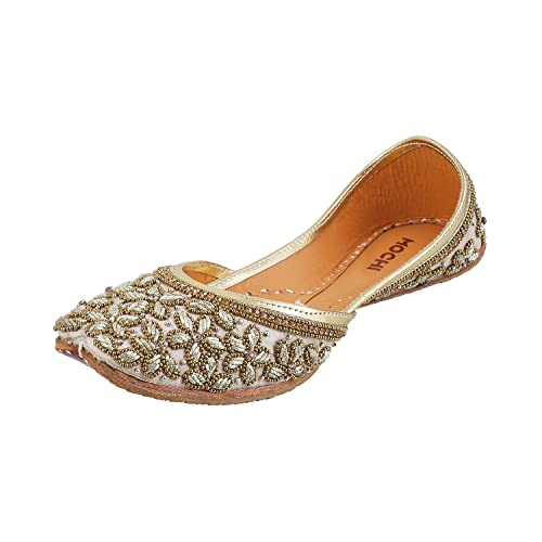 6fe1aaf0b0b9e8 Mochi Women s Antic Gold Fashion Sandals-6 UK India (39 EU) (35-3234 ...