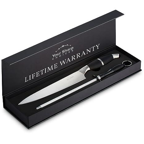 amazon com professional 8 inch chefs knife set high carbon chef rh amazon com high quality kitchen knives set high quality kitchen knives reviews