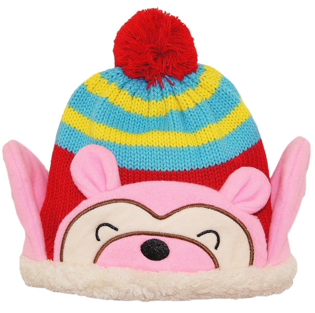 Wippette Little Girls Winter Polar Sweater Sherpa Lined Combo Hat Size 2-4T Blue Toddler