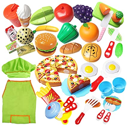 Amazon.com: Juego de alimentos para niños de 40 piezas de ...