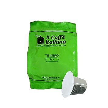 Il Caffè italiano 50 Nespresso Compatible Tea Capsules - Black Tea - 50 X Tea Capsules