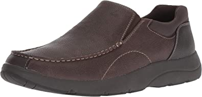 Blurred Sneaker, Brown Leather