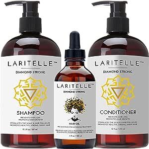 Laritelle Organic Hair Growth Set Diamond Strong