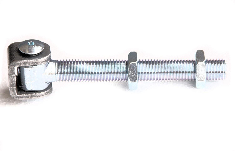 UHRIG /® Torband M20 Stahl verzinkt Scharnier Beschlag Gartentor Tor T/ürband #530-20