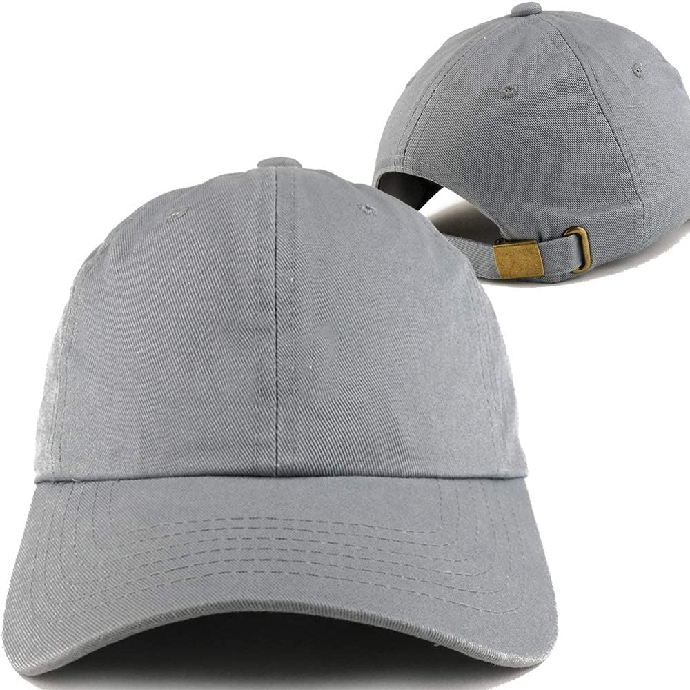 Gray Baseball Hats for Men Embroidered Cap Embroidery Snapback Hat Classic Letters O