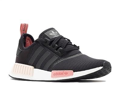 sale retailer d4b99 fbd1a Adidas Women NMD Runner Mesh Black/Peach S75234 Yeezy (10 ...