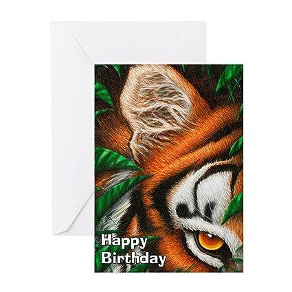 Amazon Cafepress Tiger Greeting Card Note Card Birthday