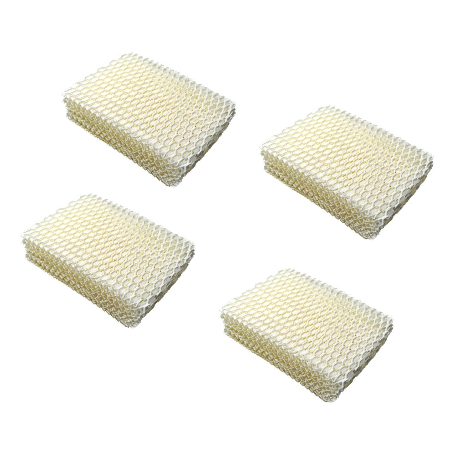 HQRP 4-pack Humidifier Wick Filter for ProCare PCCM-832N Cool Mist Humidifier, AC813 PCWF813 PCWF813-24 Replacement + HQRP Coaster