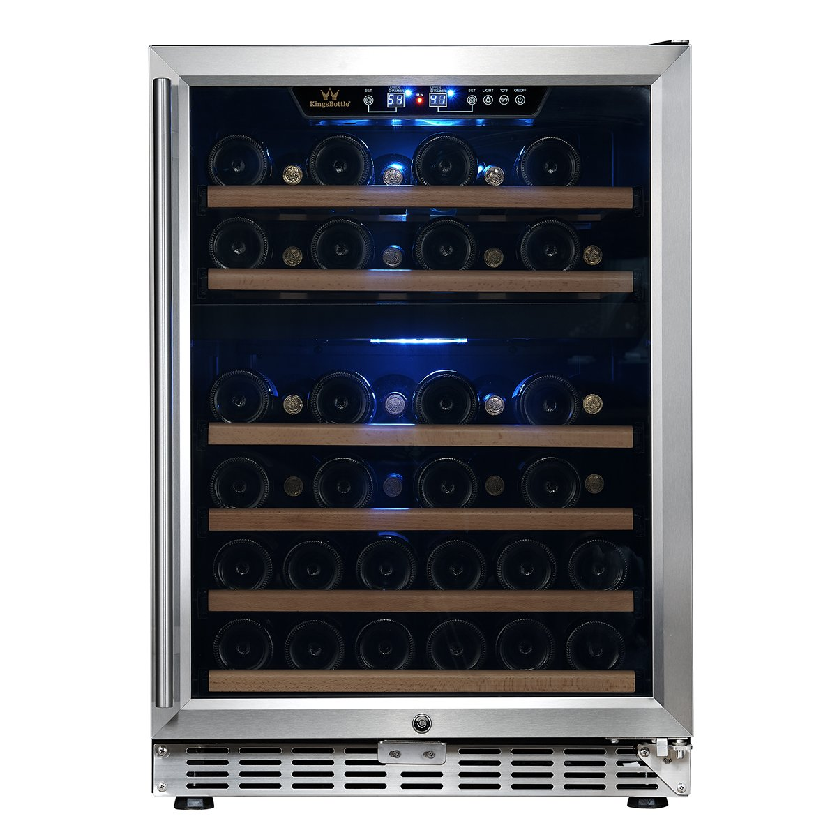 24'' Dual Zone Under Counter Built-in Wine Cooler | KBUSF54D