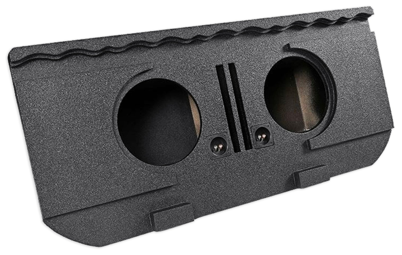 Dual 12'' Vented Subwoofer Box For 02-13 Chevy Avalanche, Cadillac Escalade EXT