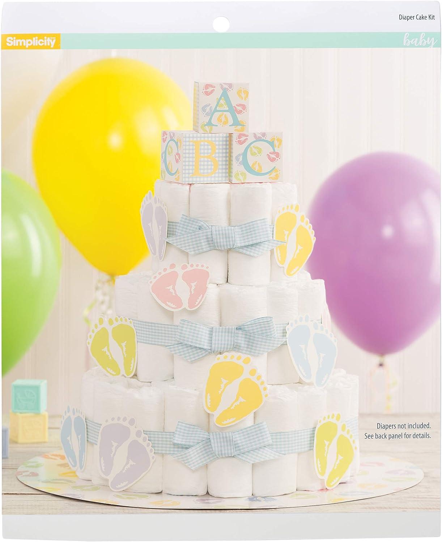 Simplicity Wilton 1004-3140 Diaper Cake Kit