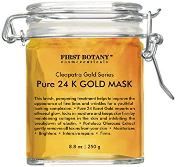 Amazon Com The Best 24 K Gold Facial Mask 8 8 Oz Gold Mask For