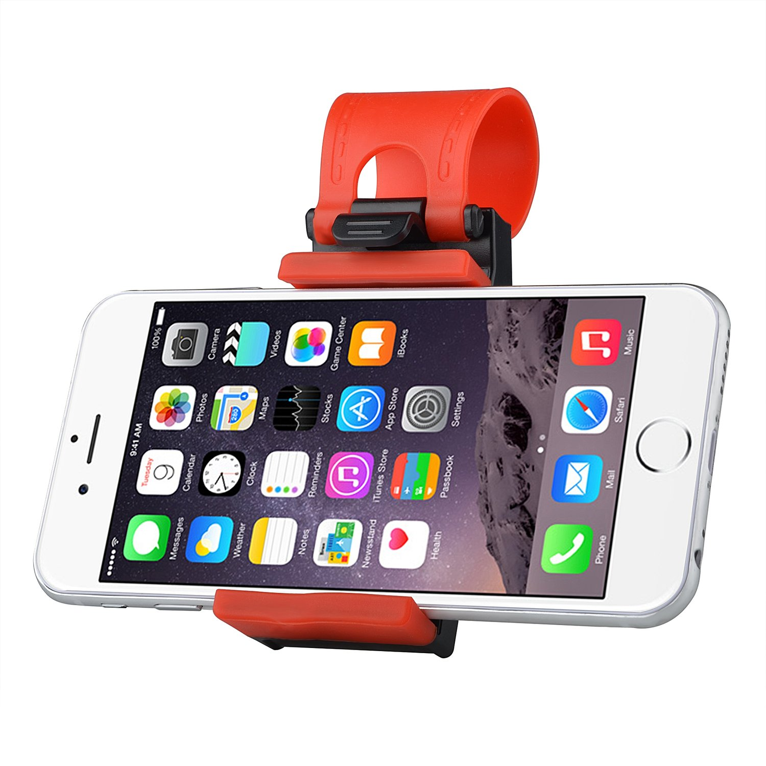 STEERING WHEEL PHONE HOLDER